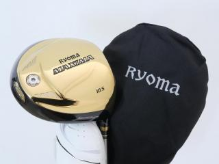 Driver : Ryoma : ไดรเวอร์ Ryoma Maxima Special Tunning (ปี 2019 หน้าเด้งเกินกฏ) Loft 10.5 ก้าน Tour AD M2-G Flex R