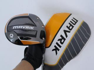 driver : ไดรเวอร์ Callaway Mavrik (รุ่นล่าสุด ออกปี 2020 Japan Spec.) Loft 9 ก้าน Mitsubishi Diamana 50 Flex S