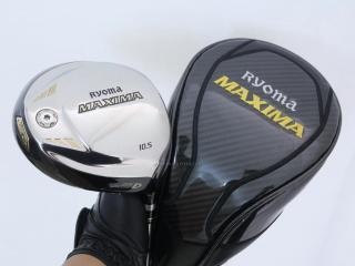 driver : ไดรเวอร์ Ryoma Maxima Type D (ออกปี 2018) Loft 10.5 ก้านตัวท็อป RYOMA BEYOND POWER Flex ∞