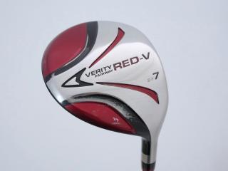 fairway_wood : หัวไม้ 7 Maruman VERITY Red-V Loft 22 Flex R