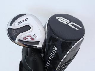 Fairway Wood : หัวไม้ 7 RC (Royal Collection) SFD Titanium Loft 21 ก้าน UST Mamiya ATTAS H55 Flex S