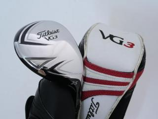 Fairway Wood : ไม้กระเทย Titleist VG3 (Japan Spec.) Loft 25 Flex R