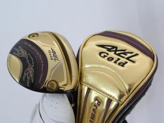 fairway_wood : หัวไม้ 3 Tsuruya AXEL Gold Premium II (รุ่นท๊อปสุด หายากมาก) Loft 15 Flex R