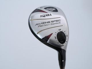 Fairway Wood : ไม้กระเทย Honma Amazing Spec PerfectSwitch Loft 22 FLex R