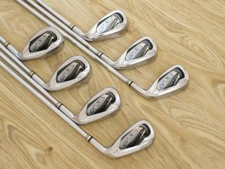 Iron set : ชุดเหล็ก XXIO 7 (ตีง่ายมาก ไกล) มีเหล็ก 6-Pw,Aw,Sw (7 ชิ้น) ก้านเหล็ก NS Pro 920 Flex R