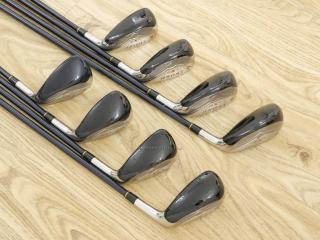 Iron set : ชุดเหล็กกระเทย Katana Sword LX-10 มีเหล็ก 5-Pw,Aw,Sw (8 ขิ้น) ก้านกราไฟต์ Flex R