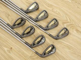 iron_set : ชุดเหล็ก Macgregor Gold Tourney (รุ่นท๊อปสุด เป็นเหล็กเด้งผิดกฏ ราคาปกติเกือบ 2 แสน) มีเหล็ก 5-Pw,Aw,Sw (8 ชิ้น) ก้านกราไฟต์ Flex R