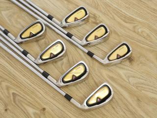 Iron set : ชุดเหล็ก Quelot Royal Excellence RE-10 มีเหล็ก 4-Pw (7 ชิ้น) ก้านเหล็ก NS Pro 750 Flex S