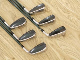 iron_set : ชุดเหล็กกระเทย Katana Snipe Iron LX-9 มีเหล็ก 4-9 (6 ชิ้น) ก้านกราไฟต์ Flex R