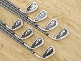 iron_set : ชุดเหล็ก Wilson Di5 (ใบใหญ่ ตีไกล) มีเหล็ก 3-Pw (8 ชิ้น) ก้านกราไฟต์ Flex R