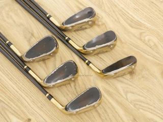 iron_set : ชุดเหล็กกระเทย Katana Sniper V Series มีเหล็ก 6-Pw,Aw (6 ชิ้น เหล็ก 6 ตีระยะเท่าเหล็ก 5 ปกติ) ก้าน Tour AD VS-5 Flex R