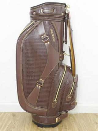 Golf Bag : ***ของใหม่*** ถุงกอล์ฟ Honma CB-1814 สีน้ำตาล ขนาด 9 นิ้ว