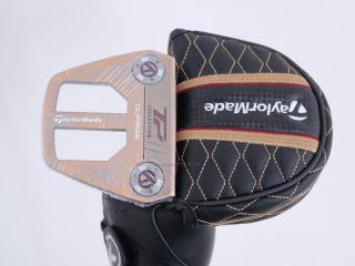 putter : **ของใหม่ ยังไม่แกะพลาสติก** พัตเตอร์ Taylormade TP Patina Collection DUPAGE (รุ่นปี 2020) ยาว 33 นิ้ว