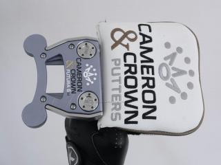 Putter : พัตเตอร์ Scotty Cameron Crown FUTURA 6M Mallet ยาว 33 นิ้ว