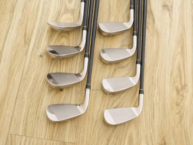 Iron set : Tsuruya : ชุดเหล็ก Tsuruya AXEL GX HM (หน้าเด้ง ตีไกลมาก) มีเหล็ก 5-Pw,Aw,Sw (8 ชิ้น) ก้านกราไฟต์ FLex S