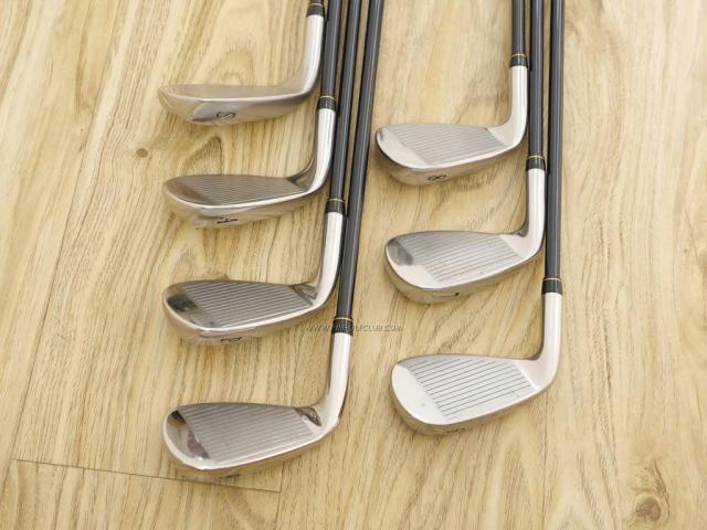 Iron set : Katana : ชุดเหล็ก Katana Sword SL-550 มีเหล็ก 6-Pw,Aw,Sw (7 ชิ้น) ก้านกราไฟต์ Flex R