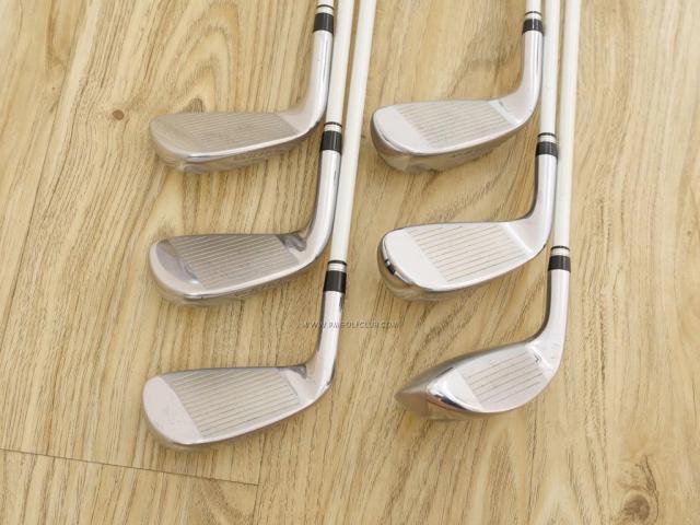 Iron set : Katana : ชุดเหล็กกระเทย Katana Voltio II G Series Hi (ตีง่ายมากๆ ไกลมาก) มีเหล็ก 6-Pw,Aw (6 ชิ้น ระยะเทียบเท่า เหล็ก 5-Pw) ก้าน Tour AD KT-5 Flex R