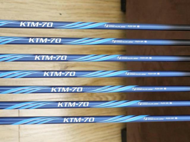 Iron set : Katana : ชุดเหล็ก Katana Sword Sniper i II (หน้าเด้ง) มีเหล็ก 5-Pw,Sw (7 ชิ้น) ก้านกราไฟต์ Flex SR