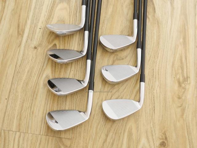 Iron set : Mizuno : ชุดเหล็ก Mizuno JPX EIII SV Hot Metal (ตัวท้อป ใบใหญ่ที่สุดของ Mizuno ตีง่ายมาก หน้าเด้ง ตีไกล) มีเหล็ก 6-Pw.Aw,Sw (7 ชิ้น) ก้านกราไฟต์ Flex SR
