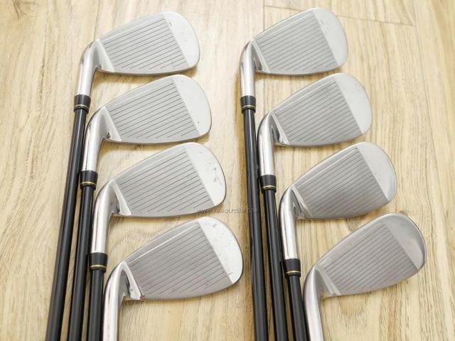 Iron set : Katana : ชุดเหล็ก Katana Snipe Iron GS-1 มีเหล็ก 5-Pw,Aw,Sw (8 ชิ้น) ก้านกราไฟต์ Flex SR