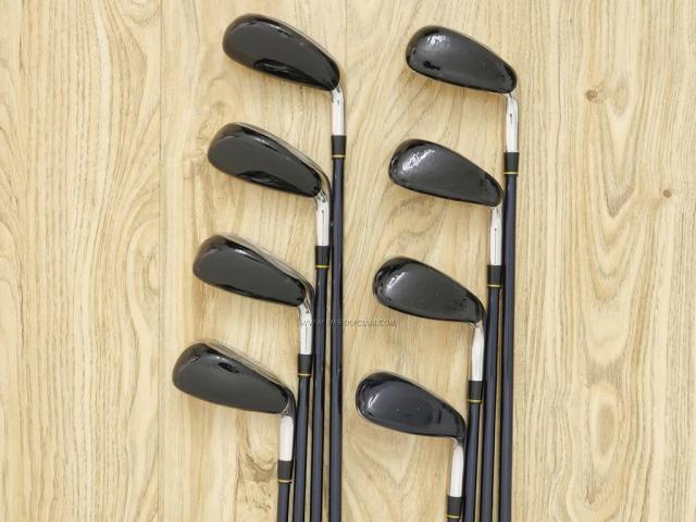 Iron set : Katana : ชุดเหล็กกระเทย Katana Sword LX-10 มีเหล็ก 5-Pw,Aw,Sw (8 ขิ้น) ก้านกราไฟต์ Flex R