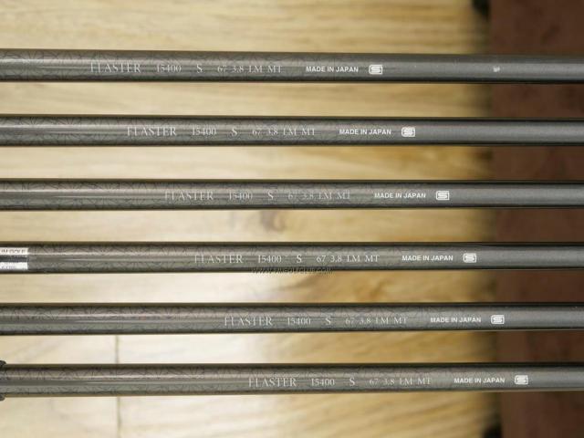 Iron set : Kasco : ชุดเหล็ก Kasco D-Max PYRA มีเหล็ก 5-Pw (6 ชิ้น) ก้านกราไฟต์ Flex S
