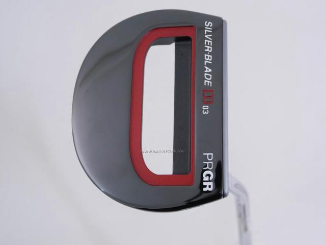 Putter : All : พัตเตอร์ PRGR Silver-Blade DD 03 (Mallet) ยาว 34 นิ้ว
