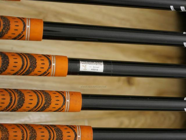 Iron set : Katana : ชุดเหล็กกระเทย Katana Sword SL-Eight มีเหล็ก 5-Pw,Aw,Sw (8 ชิ้น) ก้านกราไฟต์ FLex SR