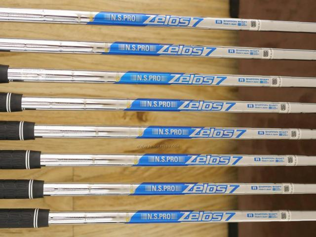 Iron set : Yonex : ชุดเหล็ก Yonex Royal E-Zone (รุ่นปี 2020 หน้าเด้งสุดๆ ตีไกลสุดๆ) มีเหล็ก 6-Pw,Aw,As,Sw (8 ชิ้น เหล็ก 6 ระยะเท่าเบอร์ 5 รุ่นอื่น) ก้านเหล็ก NS Pro Zelos 7 Flex R